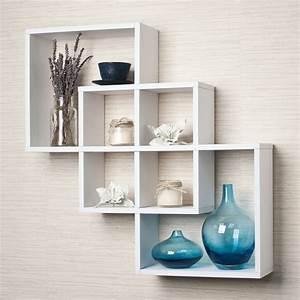 Cube De Rangement Mural : l 39 tag re cube praticit et style contemporain ~ Dailycaller-alerts.com Idées de Décoration