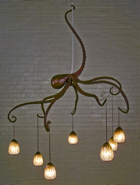 octopus chandelier daniel hopper design