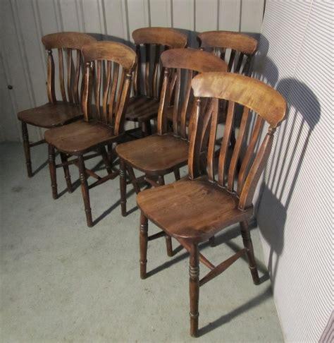 set  victorian slat  farmhouse kitchen chairs