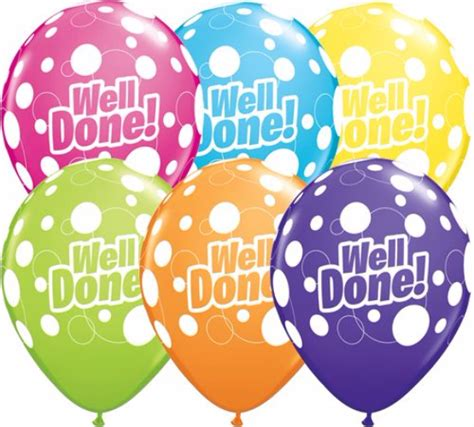 Well Done Images Well Done Dots Assortment 11 Inch Balloons 25pcs