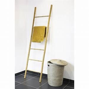 Porte serviettes à poser Bambou Leroy Merlin