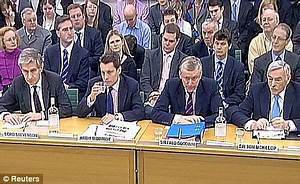 Bankers lashed for a litany of errors | Daily Mail Online