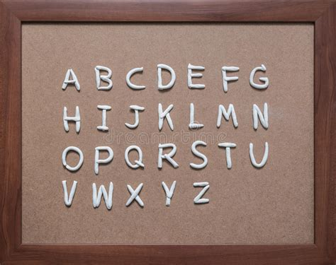 alphabet  mold  clay  black stock image image