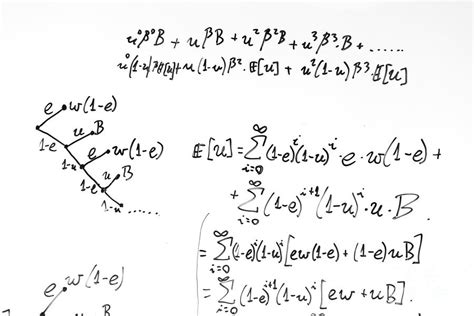 complex math formulas  whiteboard mathematics