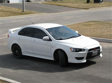 white mitsubishi lancer with black rims mitsubishi lancer price modifications pictures moibibiki