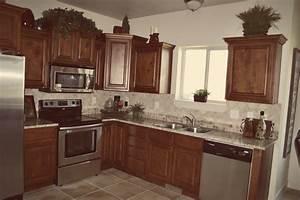 Dark Glazed RTA Kitchen Cabinets Knotty Alder Cabinets