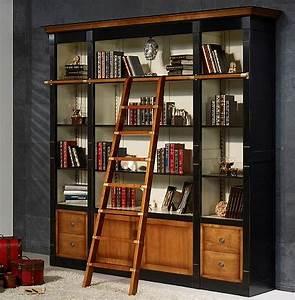 Bibliothèque en bois massif sur mesure meublesdoudard overblog