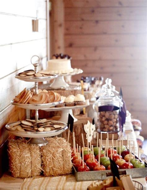 33 Cute And Cozy Fall Wedding Food Bars Weddingomania