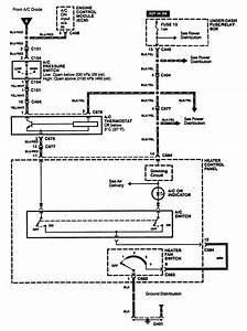 Acura Integra  1994  - Wiring Diagrams - Cooling Fans