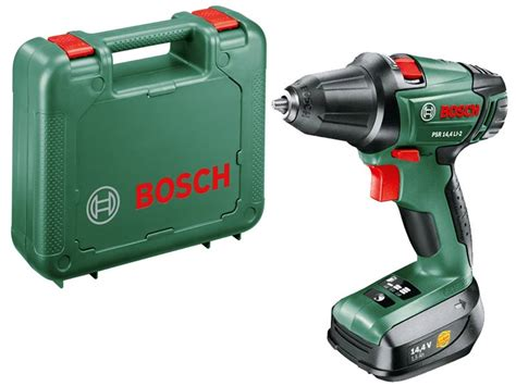 bosch 14 4 li 2 bosch green psr 14 4 li 2 14 4v 2 speed drill driver 1 x