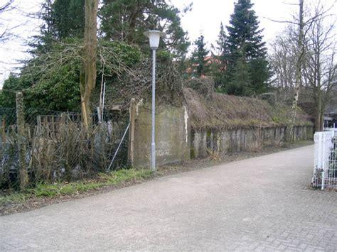 Botanischer Garten Whv innenaufnahmen betonierter deckungsgraben botanischer