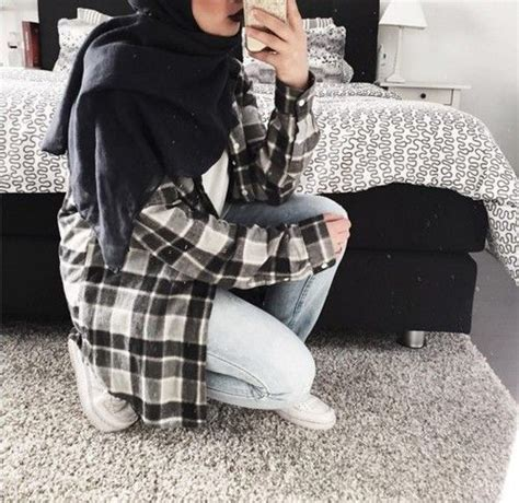 black  white aesthetics mipster muslim fashion mirror selfie tumblr aesthetics