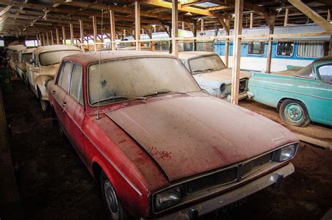 200 Dusty Classic Cars Found In A Barn