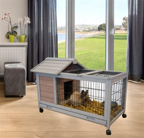 cage a lapin d interieur cage cochon d inde interieur exterieur sur roues dunland animaloo