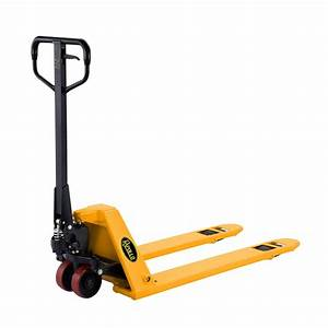 Apollolift Low Profile Manual Pallet Jack Truck Low