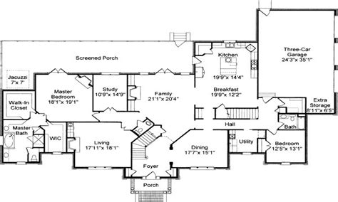 colonial floor plans colonial house floor plans traditional colonial house
