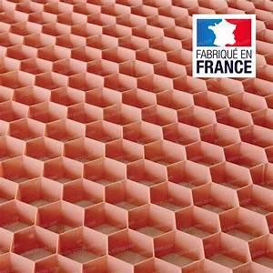 Feutre Sous Gravier : plaque stabilisation gravier nidagravel rose 120x80cm x ~ Premium-room.com Idées de Décoration