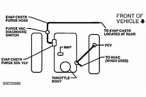1997 Chevy S10 Vacuum Hose Diagram