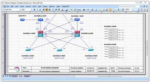 Network Diagram Excel