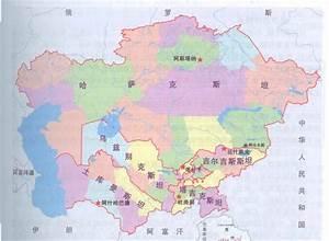 Pin 中亚 五 国 政治 中亚 地图 中亚 五 国 地图 on Pinterest
