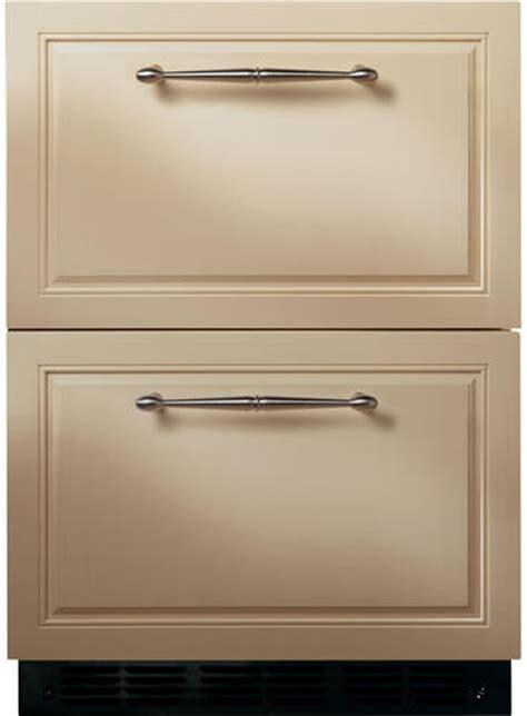 monogram zidibii   built  double drawer refrigerator   cu ft capacity