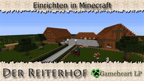 Minecraft Moderne Häuser Einrichten by Minecraft Reiterhof Einrichten In Minecraft