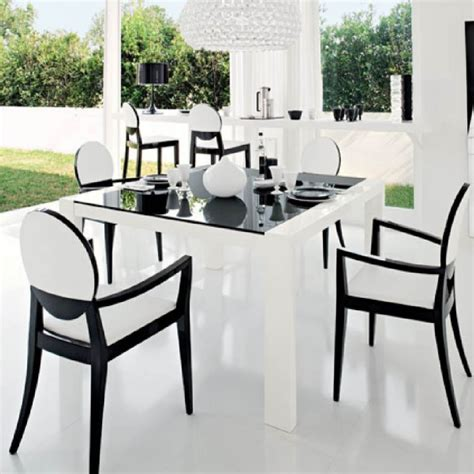 black and white chairs decor ideas the home redesign