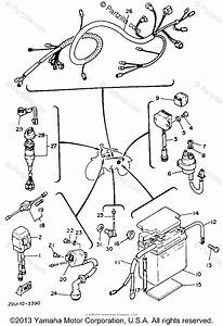Yamaha Atv 1984 Oem Parts Diagram For Electrical