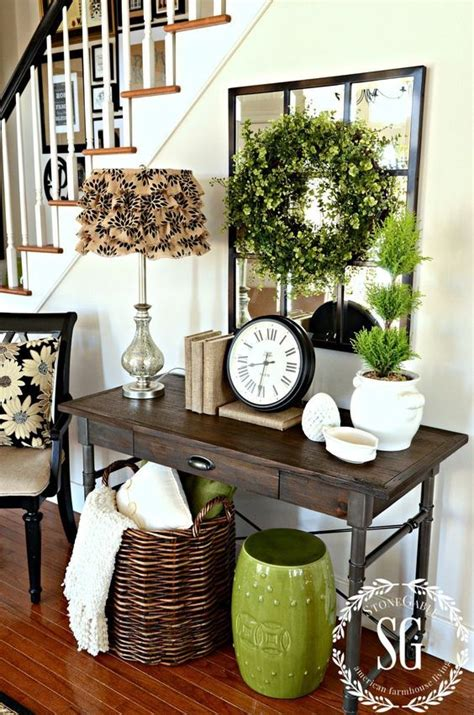 easy spring entryway decor ideas shelterness