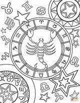 Zodiac Coloring Pages Signs Sign Printable Signos Leo Scorpius Star Para Chakras Mandalas Da Imagens Books Getcolorings Categories sketch template