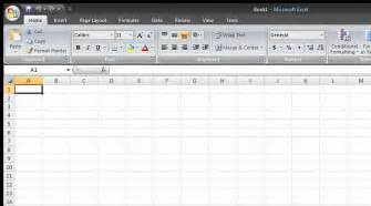 Ms Excel Templates Creating A Spreadsheet From Template In Microsoft Excel 2007 Ms Office User