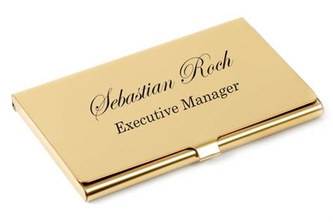 Gold Business Card Holder Case> Business Card Holder Engraved Business Letter By Email Format Card Design Guide Date Letters Principles Barbara Pawlowska Pdf Letterhead With Logo Vs Emails Us