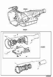 Toyota Tacoma Transmission Assembly  Automatic  Atm