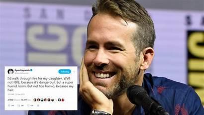 Ryan Reynolds Tweets Funny Funniest Hollywood