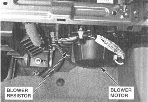 ac fan not blowing i have a 2003 honda accord ex sedan the blower motor
