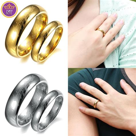 dubai gold souk wedding ring price nt dubai gold men s jewelry tungsten lord of the rings ring wowmen wedding rings for