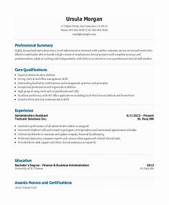 Entry level administrative assistant resume 7 free pdf for Free administrative assistant resume templates
