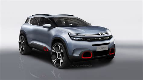 citroen c5 2018 2018 citroen c5 aircross officially revealed gets innovative hydraulic suspension carscoops