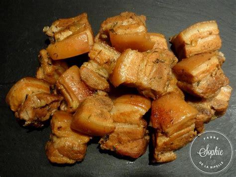 cuisiner poitrine de porc rillons la tendresse en cuisine