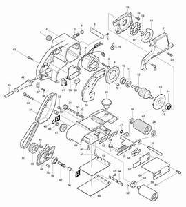 Spares For Makita 9402 Corded Belt Sander 100 X 610mm 110v