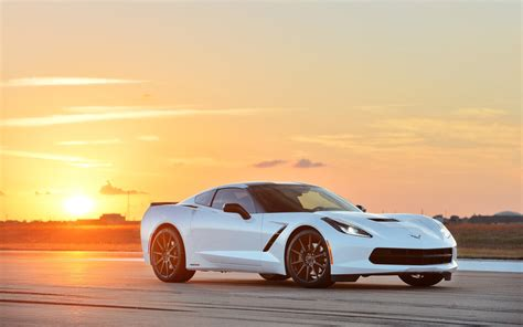 Car Wallpaper 2014 by 2014 Chevrolet Corvette Stingray Hpe500 By Hennessey