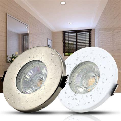 Bathroom Spotlights Zone 1 by 4x 10x Ip44 Gu10 Downlight Bathroom Fitting Led Ceiling