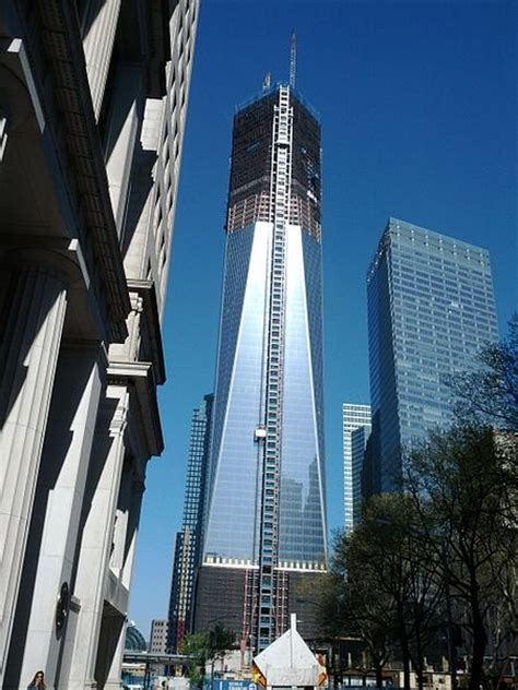 9 11 site reborn as 1 wtc tower rises above new york