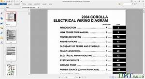 Toyota Corolla 2004 Wiring Diagrams
