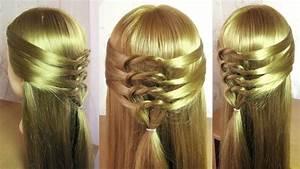 Coiffure Tresse Facile Cheveux Mi Long : tuto coiffure simple et rapide cheveux mi long coiffure ~ Melissatoandfro.com Idées de Décoration