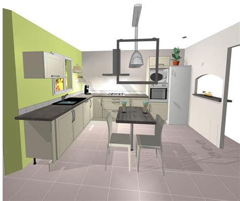 plans cuisine ouverte plans de cuisines ouvertes plan amnagement de cuisine en