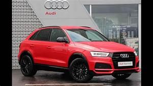 Audi Q3 S Line Versions : cx17oag audi q3 tdi quattro s line black edition red 2017 youtube ~ Gottalentnigeria.com Avis de Voitures