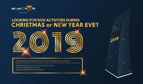 2019 Christmas And New Year Eve Recommend Activities With