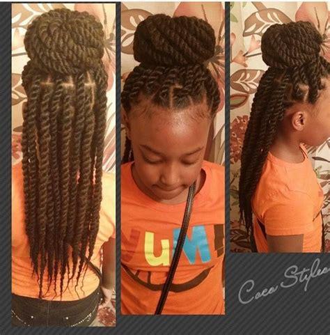 black kids twists hairstyles hair styles cute