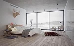 Großes Schlafzimmer Einrichten : schlafzimmer nordisch gestalten ~ Frokenaadalensverden.com Haus und Dekorationen